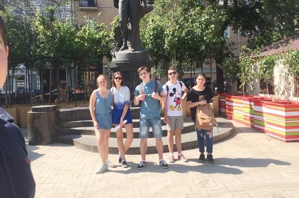 команда квеста по Москве