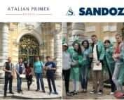 В начале июня мы провели очередные квесты в Кусково для сотрудников компаний Sandoz и Atalian Primex.
