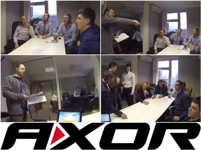 Интеллектуальная игра в офисе Axor