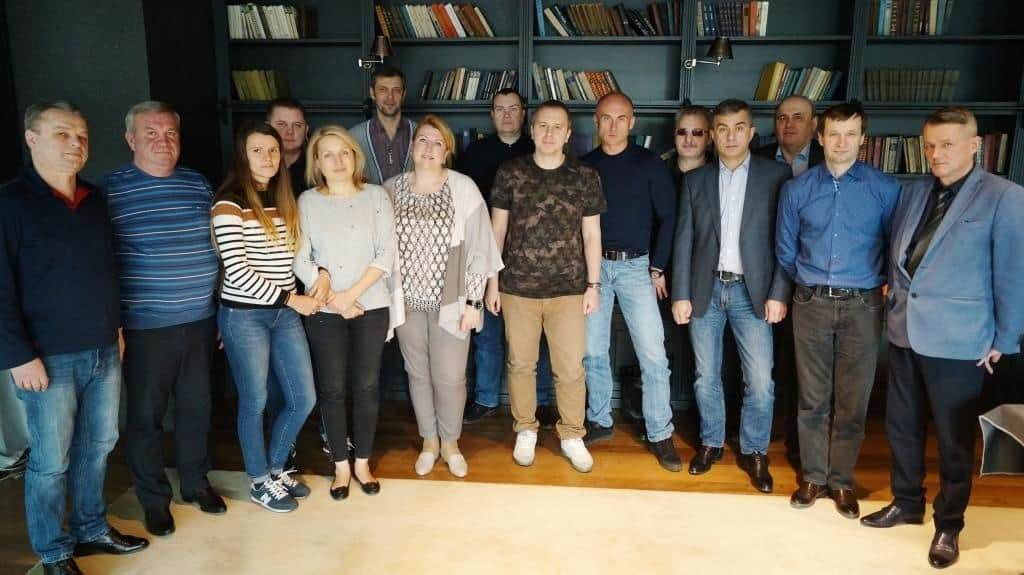 участники организационной сессии