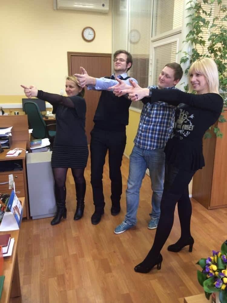 квест в офисе DSM Group