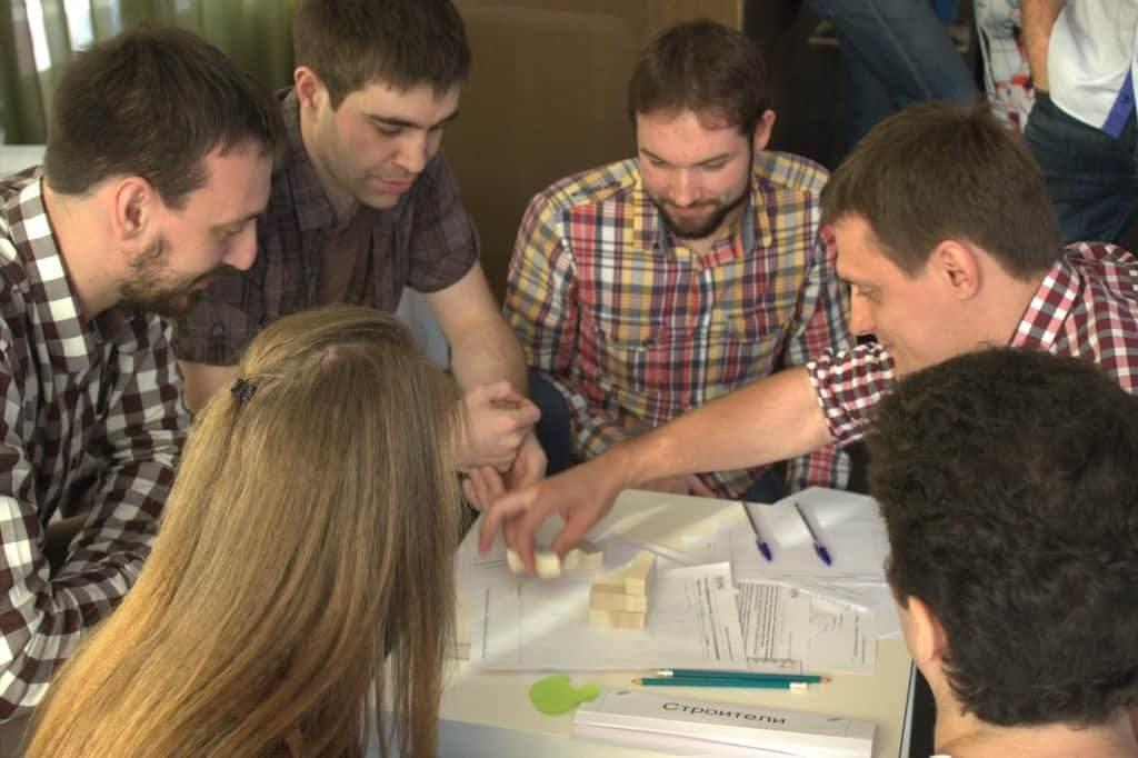 деловая игра для сотрудников DIS Group