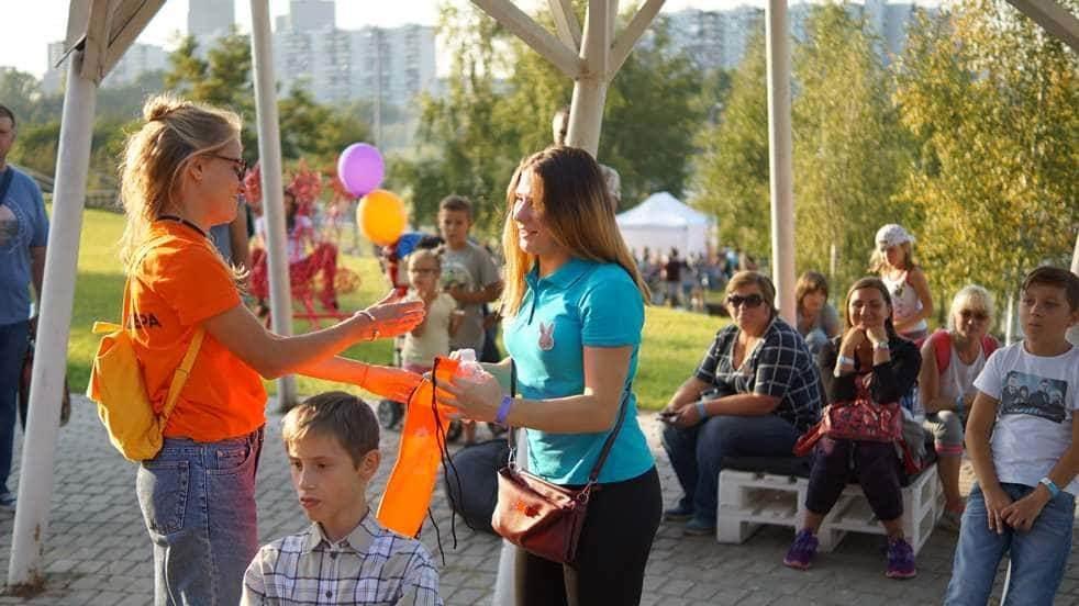 Квест в парке Братеево для 2500 человек