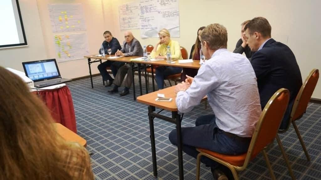 Организационная сессия руководителей