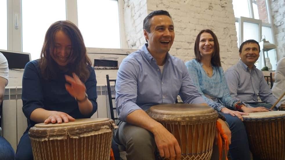 барабанный тренинг в Москве