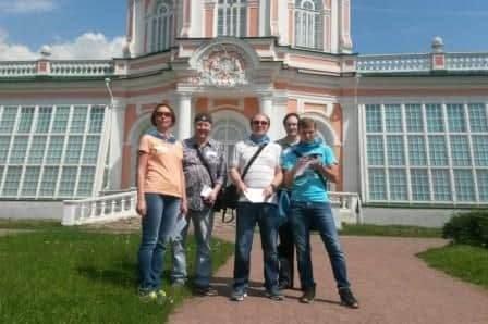 Участники квеста в Кусково