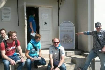 Квест в Кусково для команды БДО Юникон Солушнс