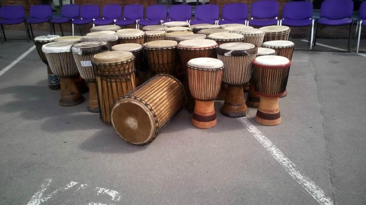 барабанный тимбилдинг