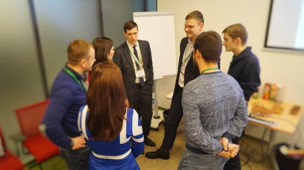 участники тренинга Личная эффективность руководителя
