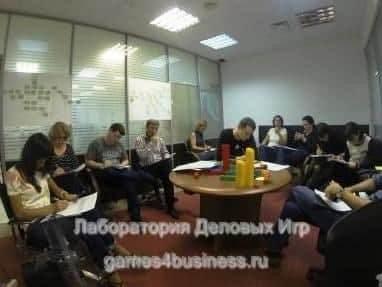 деловая игра по управлению проектами