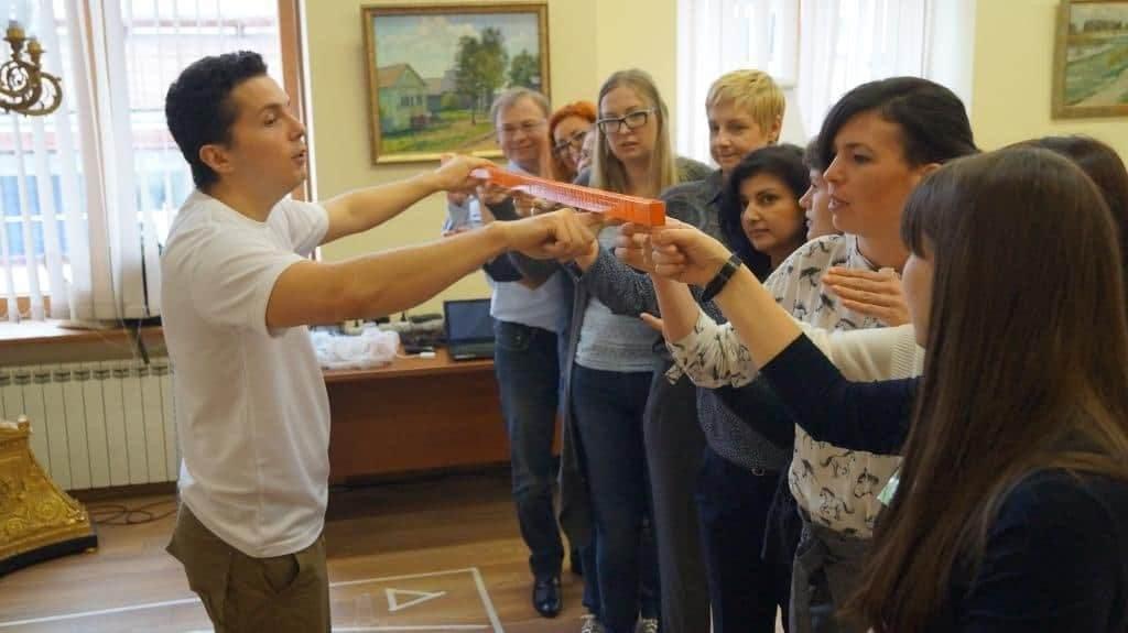 тимбилдинг веревочный курс в Москве